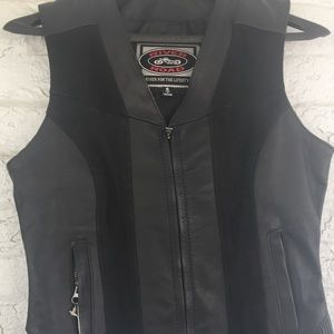 Other - nwt leather vest